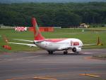 むらさめさんが、新千歳空港で撮影したティーウェイ航空 737-86Nの航空フォト(写真)