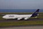 じゃりんこさんが、中部国際空港で撮影したルフトハンザドイツ航空 747-430の航空フォト(写真)