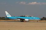 matsuさんが、成田国際空港で撮影したKLMオランダ航空 777-206/ERの航空フォト(飛行機 写真・画像)
