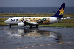 CL&CLさんが、奄美空港で撮影したスカイマーク 737-86Nの航空フォト(飛行機 写真・画像)