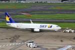 ばっきーさんが、羽田空港で撮影したスカイマーク 737-86Nの航空フォト(写真)