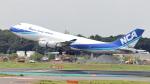 誘喜さんが、成田国際空港で撮影した日本貨物航空 747-4KZF/SCDの航空フォト(写真)