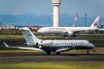 Cygnus00さんが、新千歳空港で撮影したレッドラインエア BD-700-1A10 Global Expressの航空フォト(写真)