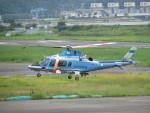 sp3混成軌道さんが、岡南飛行場で撮影した奈良県警察 A109E Powerの航空フォト(写真)