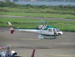 sp3混成軌道さんが、岡南飛行場で撮影したアカギヘリコプター AS350B2 Ecureuilの航空フォト(写真)