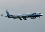 Crosswindさんが、関西国際空港で撮影したエア・トランスポート・インターナショナル DC-8-73CFの航空フォト(写真)