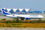 まいけるさんが、スワンナプーム国際空港で撮影したフィンエアー A330-302Xの航空フォト(写真)