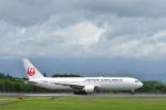 HS888さんが、鹿児島空港で撮影した日本航空 767-346の航空フォト(写真)