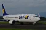HS888さんが、鹿児島空港で撮影したスカイマーク 737-81Dの航空フォト(写真)