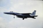 鯉ッチさんが、嘉手納飛行場で撮影したアメリカ空軍 F-15A Eagleの航空フォト(写真)