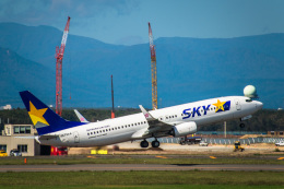 Cygnus00さんが、新千歳空港で撮影したスカイマーク 737-8ALの航空フォト(写真)