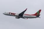 mototripさんが、福岡空港で撮影したティーウェイ航空 737-8Q8の航空フォト(写真)
