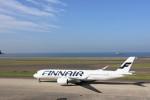 micchanさんが、中部国際空港で撮影したフィンエアー A350-941XWBの航空フォト(写真)