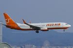 Scotchさんが、関西国際空港で撮影したチェジュ航空 737-85Pの航空フォト(写真)