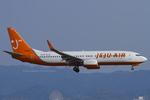 Scotchさんが、関西国際空港で撮影したチェジュ航空 737-8BKの航空フォト(写真)