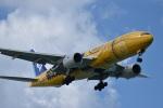 たっしーさんが、那覇空港で撮影した全日空 777-281/ERの航空フォト(写真)
