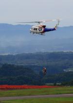 タミーさんが、福島空港で撮影した福島県消防防災航空隊 412EPの航空フォト(写真)