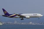Scotchさんが、関西国際空港で撮影したタイ国際航空 777-2D7/ERの航空フォト(写真)
