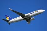 ばっきーさんが、那覇空港で撮影したスカイマーク 737-8FHの航空フォト(写真)