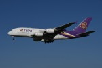 tassさんが、成田国際空港で撮影したタイ国際航空 A380の航空フォト(写真)