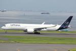 cassiopeiaさんが、羽田空港で撮影したルフトハンザドイツ航空 A350-941XWBの航空フォト(写真)