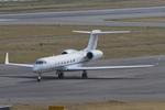 Scotchさんが、関西国際空港で撮影したメトロジェット G-V-SP Gulfstream G550の航空フォト(飛行機 写真・画像)