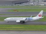蒲田っ子さんが、羽田空港で撮影した日本トランスオーシャン航空 737-8Q3の航空フォト(写真)