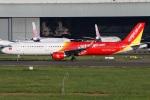 たみぃさんが、台湾桃園国際空港で撮影したベトジェットエア A321-211の航空フォト(写真)