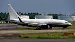 Cozy Gotoさんが、成田国際空港で撮影したアメリカ企業所有 737-7JR BBJの航空フォト(写真)