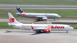 誘喜さんが、シンガポール・チャンギ国際空港で撮影したタイ・ライオン・エア 737-9-MAXの航空フォト(写真)