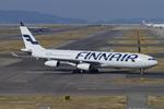 Scotchさんが、関西国際空港で撮影したフィンエアー A340-313Xの航空フォト(飛行機 写真・画像)