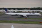 知希(仮)さんが、成田国際空港で撮影したユナイテッド航空 777-322/ERの航空フォト(写真)