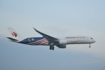 ハヤテBRさんが、成田国際空港で撮影したマレーシア航空 A350-941XWBの航空フォト(写真)