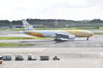 ハヤテBRさんが、成田国際空港で撮影したノックスクート 777-212/ERの航空フォト(写真)