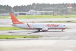 ハヤテBRさんが、成田国際空港で撮影したチェジュ航空 737-8ASの航空フォト(写真)