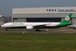 たみぃさんが、台湾桃園国際空港で撮影したエバー航空 777-35E/ERの航空フォト(写真)
