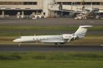 とらとらさんが、羽田空港で撮影したケイマン諸島企業所有 G500/G550 (G-V)の航空フォト(写真)
