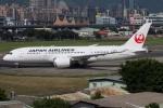 たみぃさんが、台北松山空港で撮影した日本航空 787-8 Dreamlinerの航空フォト(写真)