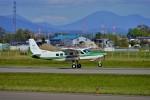 hidetsuguさんが、札幌飛行場で撮影した共立航空撮影 208 Caravan Iの航空フォト(写真)