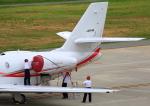 タミーさんが、山形空港で撮影した朝日航洋 680 Citation Sovereignの航空フォト(写真)