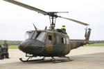 とらとらさんが、千歳基地で撮影した陸上自衛隊 UH-1Jの航空フォト(写真)