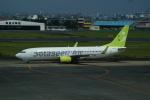FRTさんが、宮崎空港で撮影したソラシド エア 737-86Nの航空フォト(飛行機 写真・画像)