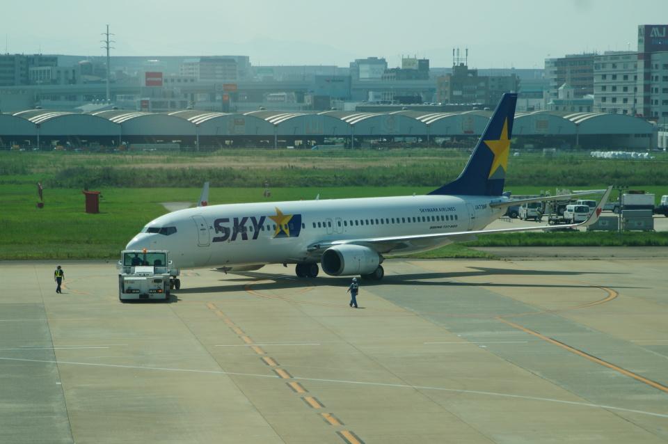 FRTさんのスカイマーク Boeing 737-800 (JA73NF) 航空フォト