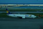 FRTさんが、那覇空港で撮影したスカイマーク 737-8FZの航空フォト(飛行機 写真・画像)