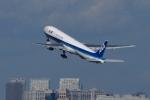 飛行機ゆうちゃんさんが、羽田空港で撮影した全日空 777-381の航空フォト(写真)
