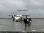 ヒロリンさんが、奄美空港で撮影した日本エアコミューター DHC-8-402Q Dash 8の航空フォト(写真)