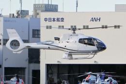 kaeru6006さんが、東京ヘリポートで撮影したオートパンサー EC130B4の航空フォト(飛行機 写真・画像)