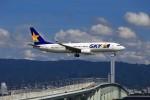 JA946さんが、関西国際空港で撮影したスカイマーク 737-8ALの航空フォト(写真)