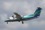 プルシアンブルーさんが、福岡空港で撮影したオリエンタルエアブリッジ DHC-8-201Q Dash 8の航空フォト(写真)