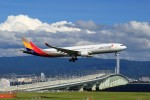 T.Sazenさんが、関西国際空港で撮影したアシアナ航空 A330-323Xの航空フォト(写真)